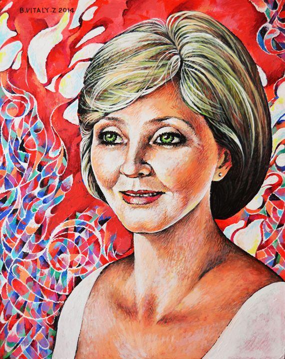 Portrait of Woman-17 - Vitaly Zasedko