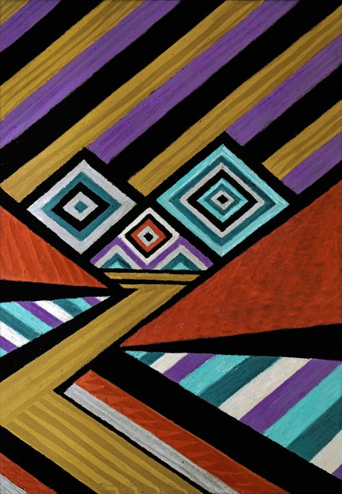 Harmonic Abstract Composition #2 - Bruce Bodden