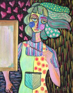 Self Portrait: Emerging Artist