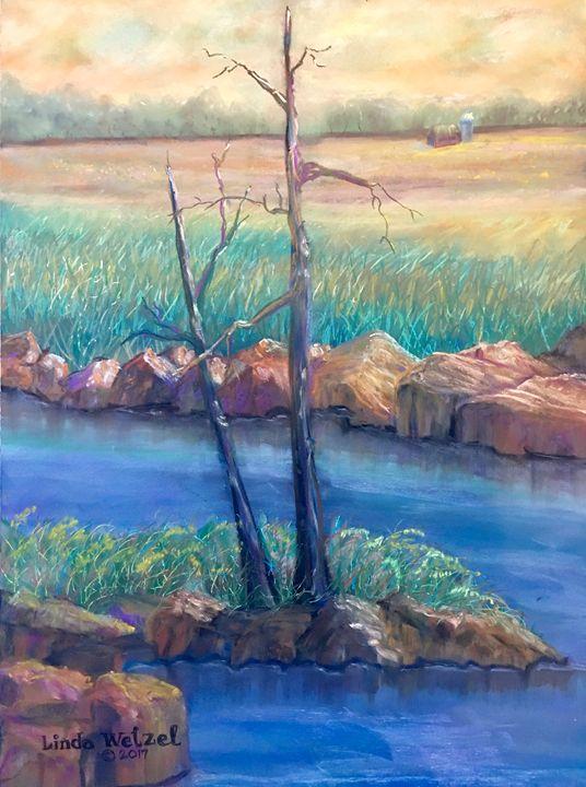 Summer Sentinels - Linda Wetzel Fine Art