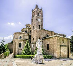 Monte Oliveto Maggiore asciano siena