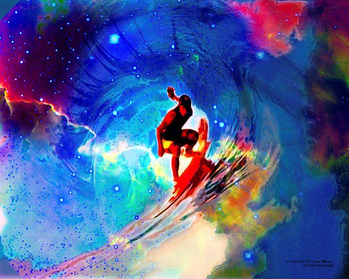 Space Surfing - Juan Martico