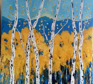 Aspens Original Acrylic Painting