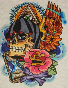 Reaper skull