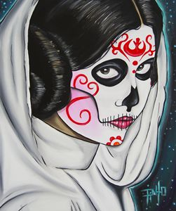Day of the Dead Leia