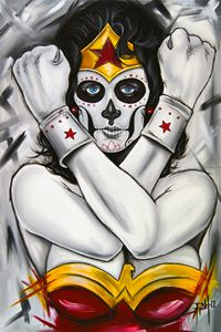 Day of the Dead Wonder Woman