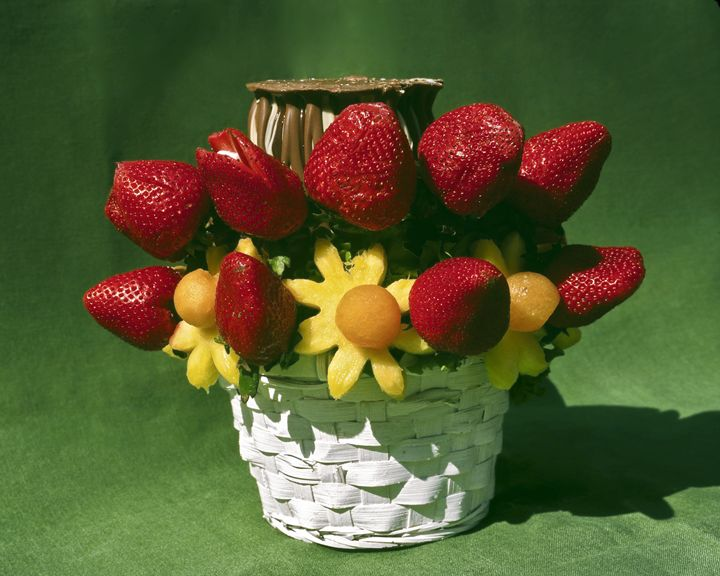 Fruit and Chocolate Basket - Sally Weigand Images