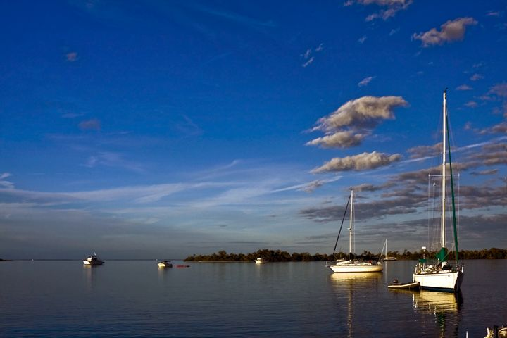 Peaceful Anchorage - Sally Weigand Images