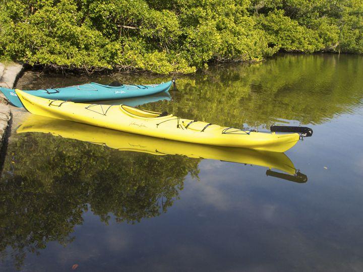 Waiting Kayaks - Sally Weigand Images