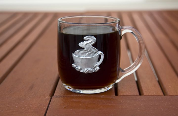 Coffee in Glass Mug - Sally Weigand Images