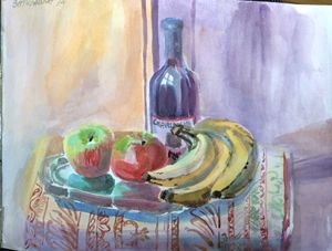 """""""A Still Life with fruits"""", 2014"""