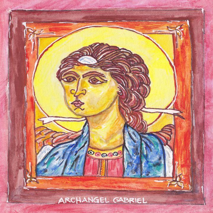 ARCHANGEL GABRIEL - Art for God