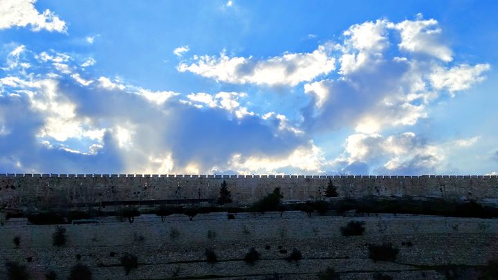 Temple Mount Ramparts - Jonathan M. Schwartzman