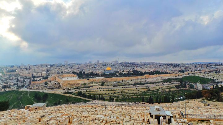 Atop Mount Of Olives - Jonathan M. Schwartzman
