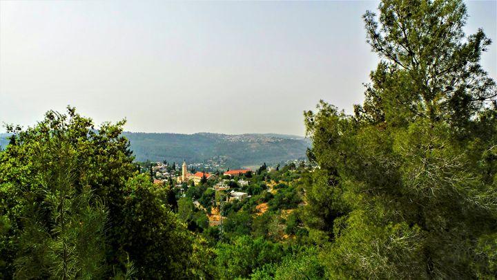 Village Of Ein Kerem - Jonathan M. Schwartzman