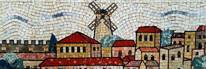 Kiryat Moshe Mosaic - Jonathan M. Schwartzman