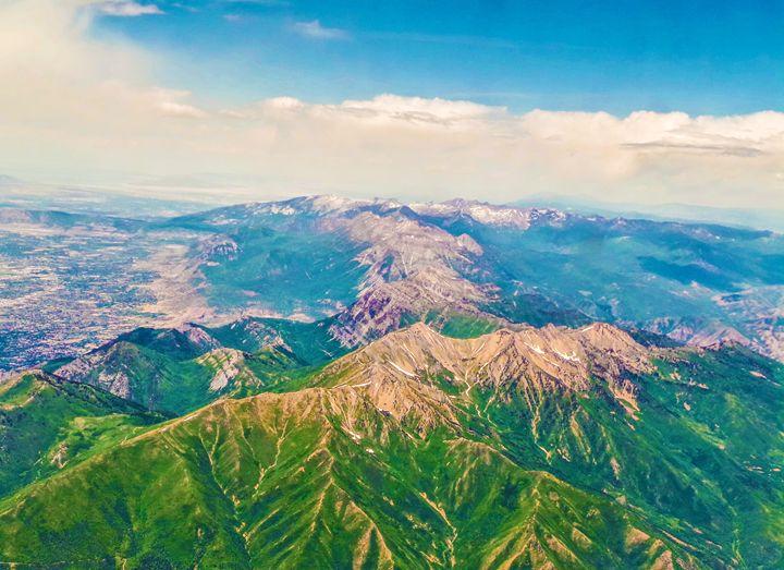 Above The Rocky Mountains - Jonathan M. Schwartzman