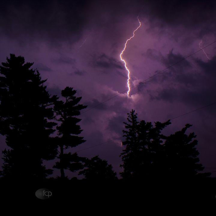 Lightning Strike - Mr. and Mrs. Carter