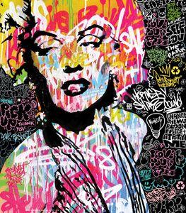 Marilyn Monroe Street Art
