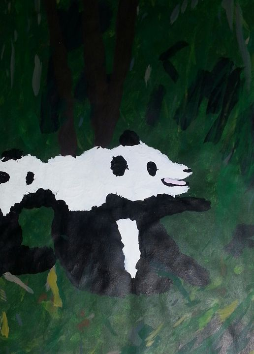 Pandas - Art by Audriana