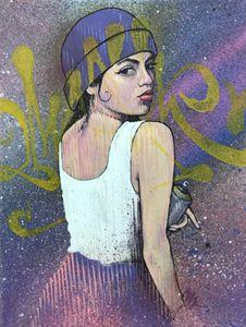 Reina del graffity