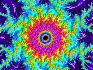 Mandelbrot pinwheel