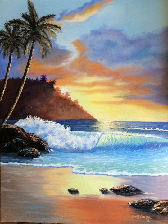 Kona Hawaii - Scott's Art Gallery