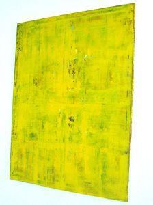 Original Abstract Painting, Yellow