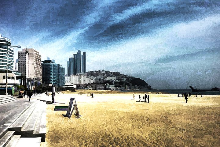 Busan High rises - Visionary Skies