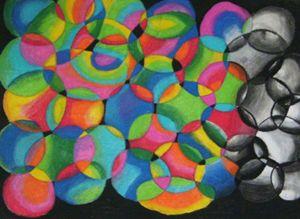 Circles in Pastel