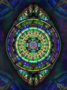 Celtic Knotwork Tapestry Design 3