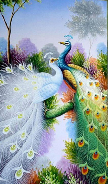 Peacocks - Fleurdelis