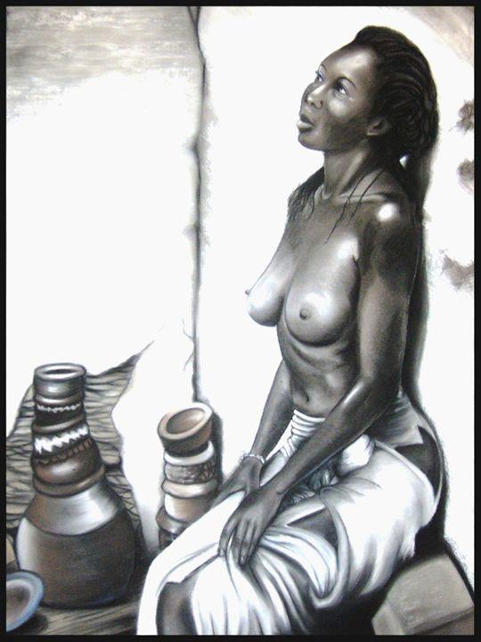 Seated Woman - frandiodore