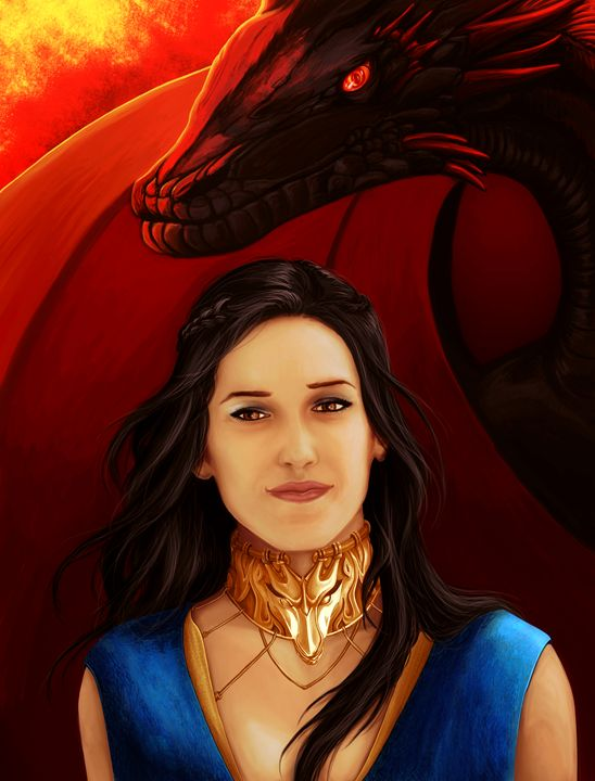 Fire and Blood (Black Hair) - P.Halliwell