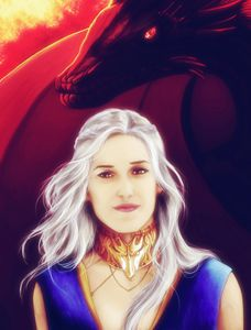 Fire and Blood (Silver Hair)