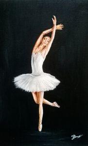 Dreaming ballerina