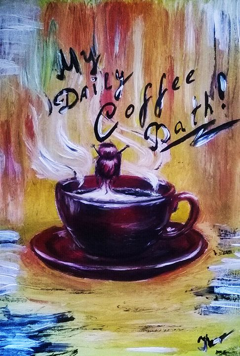 Coffee Bath - Magic Art