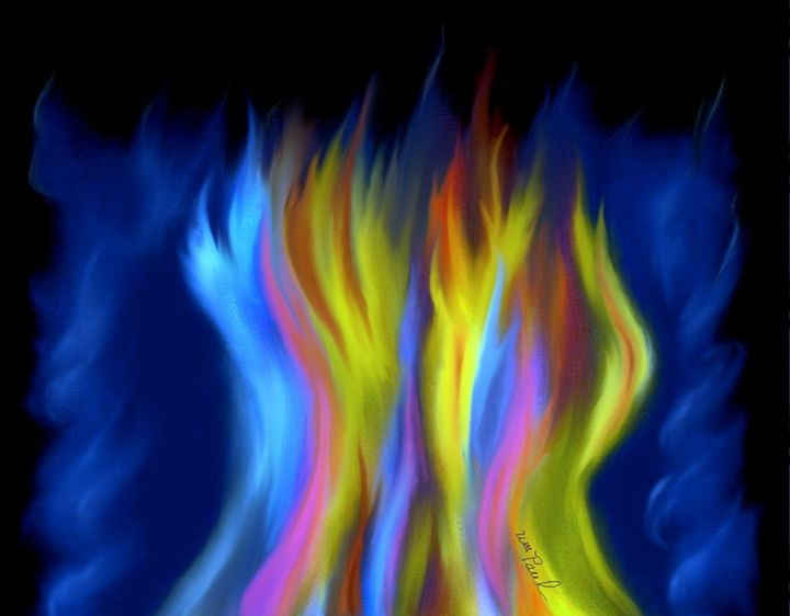 Flames Of Color - William Marlette (Diversity)