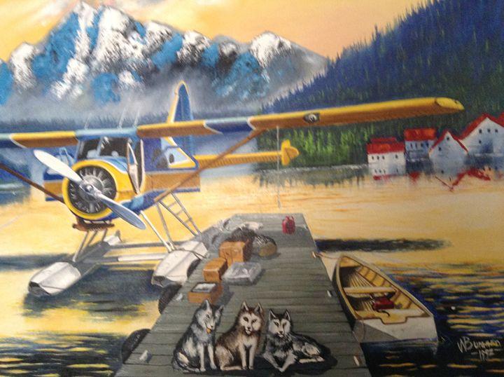 north to Alaska - walter Buranen