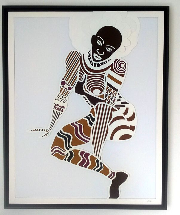 Tribal Woman - Mitch Gallery