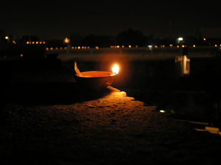 Diwali light - Here is the world