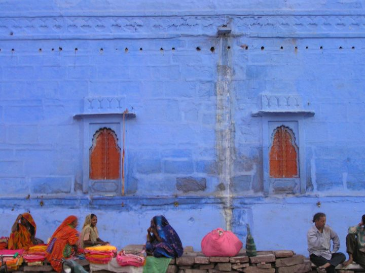 Jodhpur Blue - Here is the world