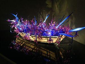 Boat Glass sculpture