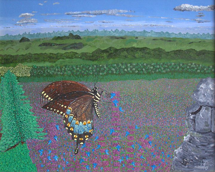 Butterfly - Philip's Oil Paintings