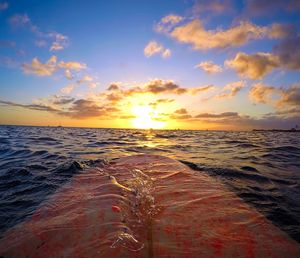 Sunset From The Water Immerse