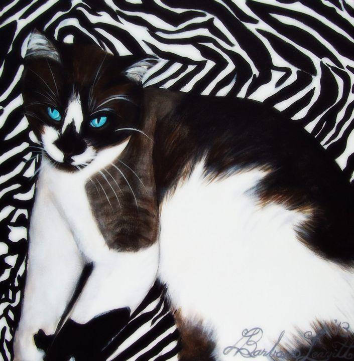 Cat Zebra - barbara leavitt