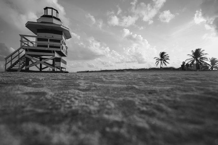 Depth of field Beach - MC's Life Art