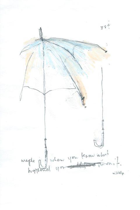 Umbrella Series Works on Paper - Aaron Mitchell