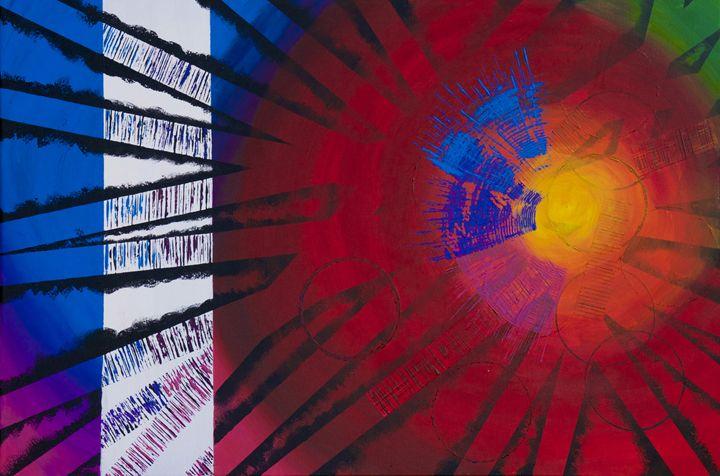 Spectrum Burst - LaToya's creative art