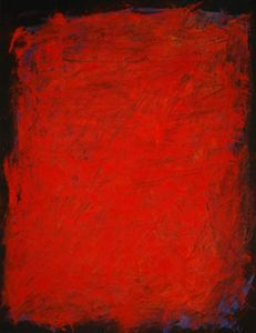 Red monolith